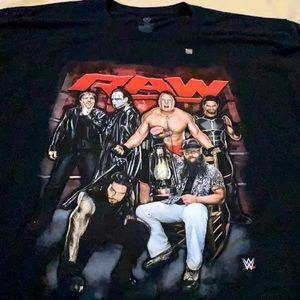NWOT WWE Raw T-shirt Vintage Sting Brock Lesner